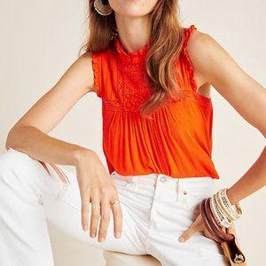 Anthropologie Janou sleeveless top size 6